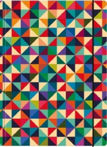 Sammelmappe A4, Geometrik